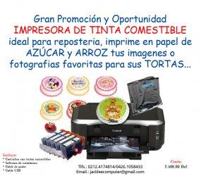 Impresora De Tinta Comestible Caracas Avisos