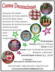 Cursos Decoración Para Fiestas Infantiles Globos Y Telas