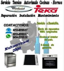 Servicio Tecnico Autorizado Cocinas   Hornos (Teka U0026 Whirlpool)   Caracas